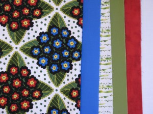 Focus print and companion fabricss