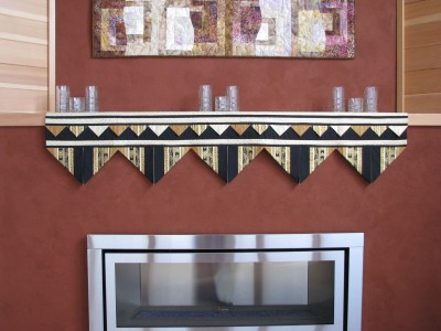 fireplace mantle runner