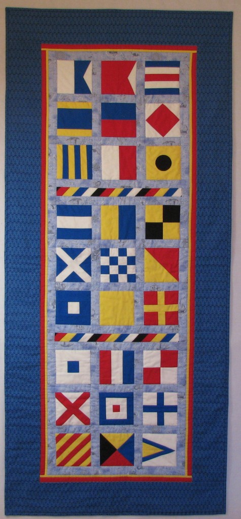 Mariners Alphabet banner