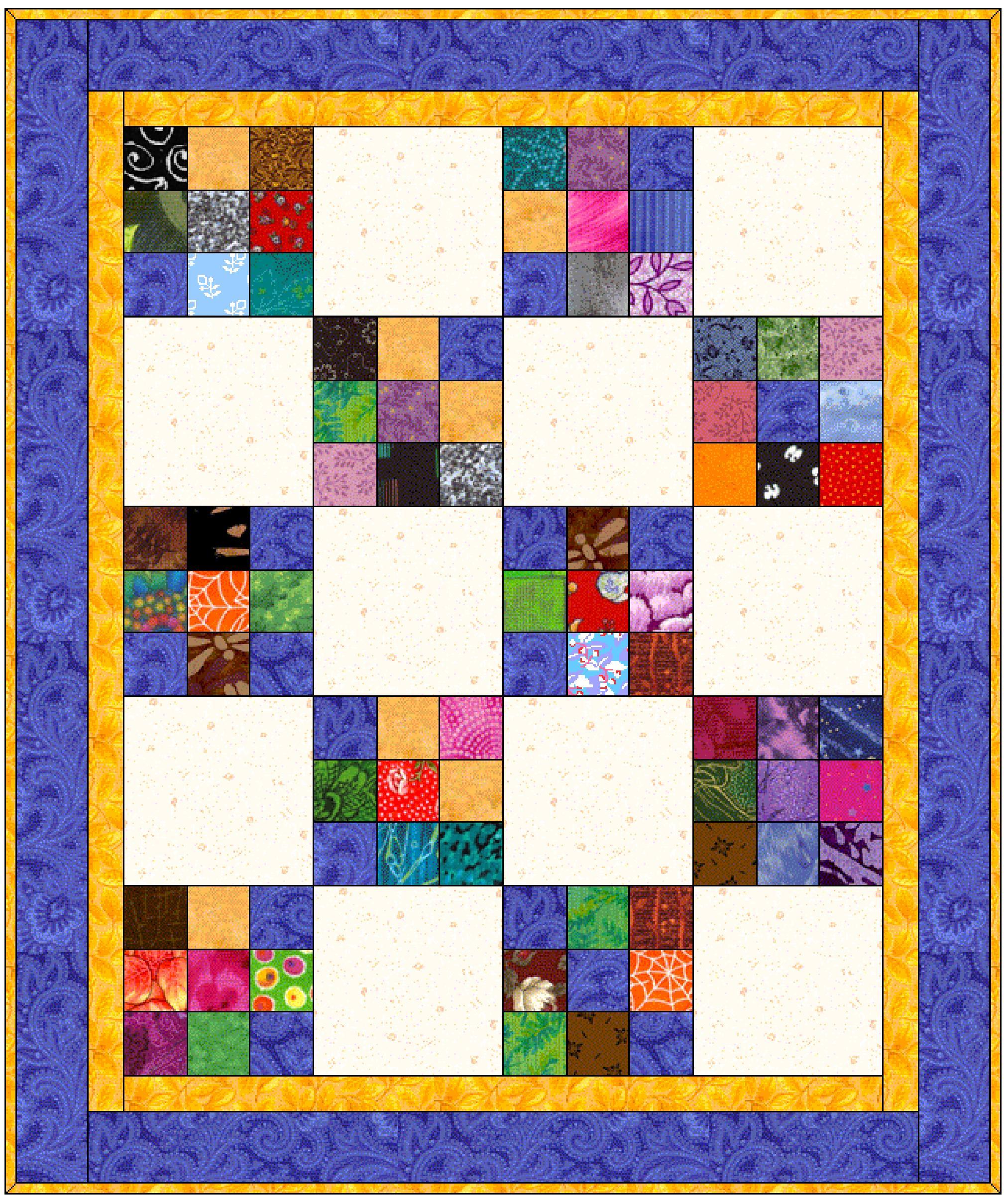 Patterns Mystery Bay Quilt Design