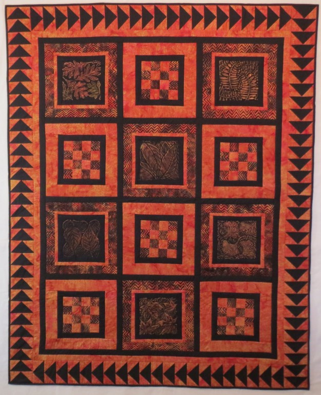 Squares Upon Squares 51 by 64 inches