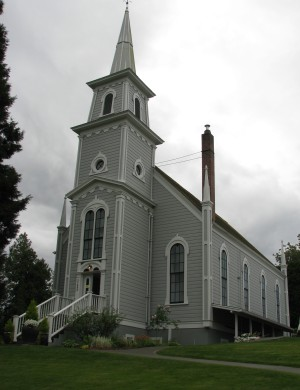 The historic St. Paul's Church in Port Gamble