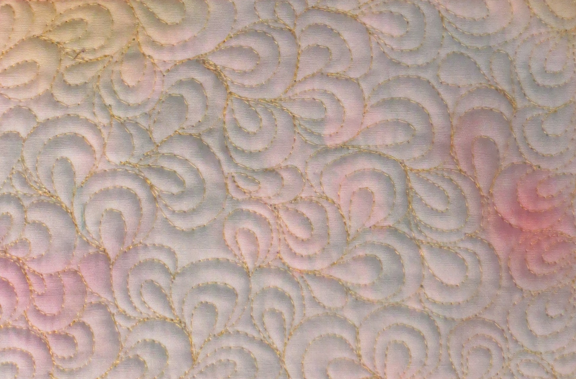 Free motion quilting mystery bay quilt design for Free motion quilting ideas