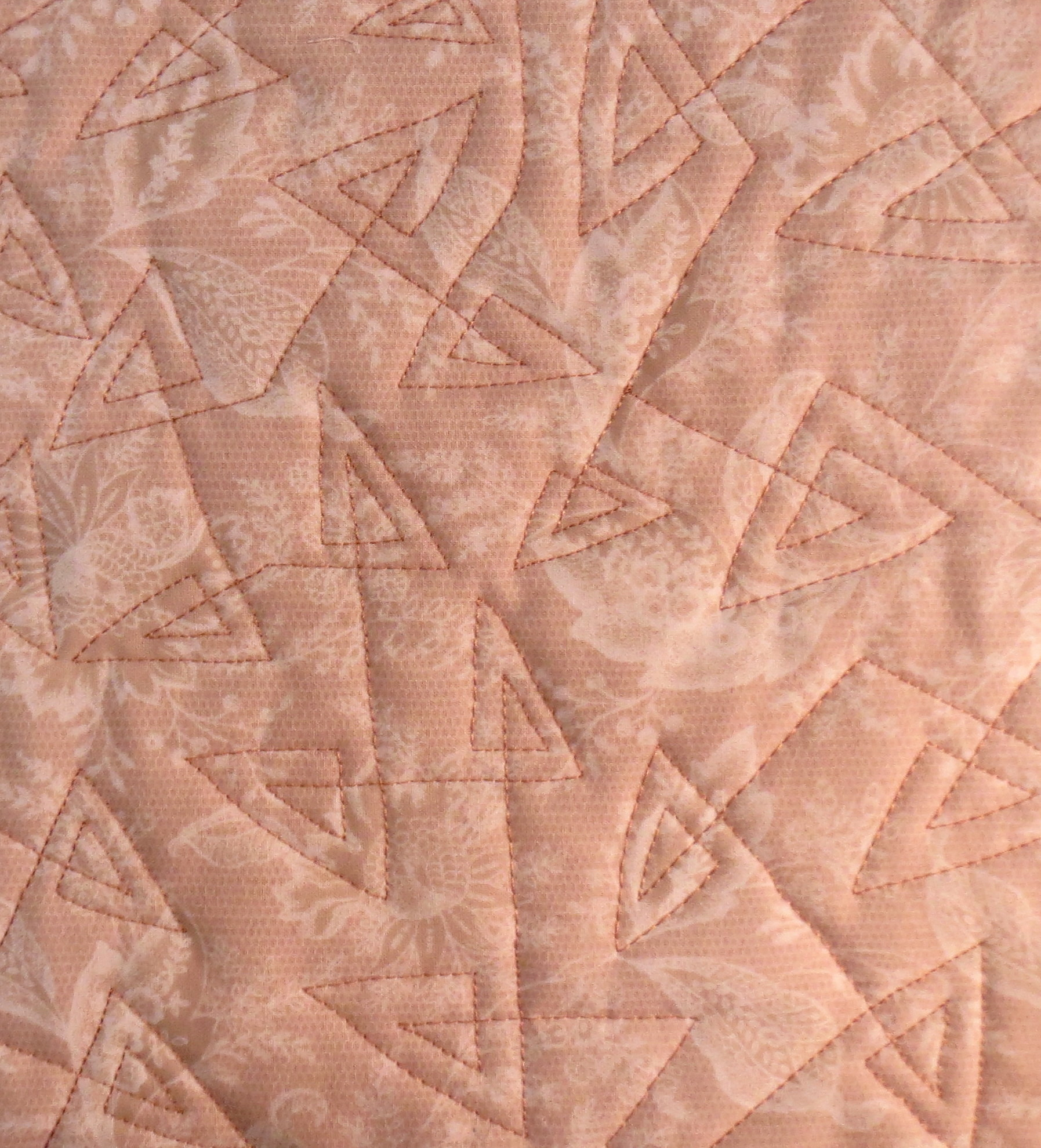 Free Motion Quilting   Mystery Bay Quilt Design