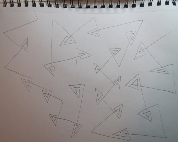 Open double triangles