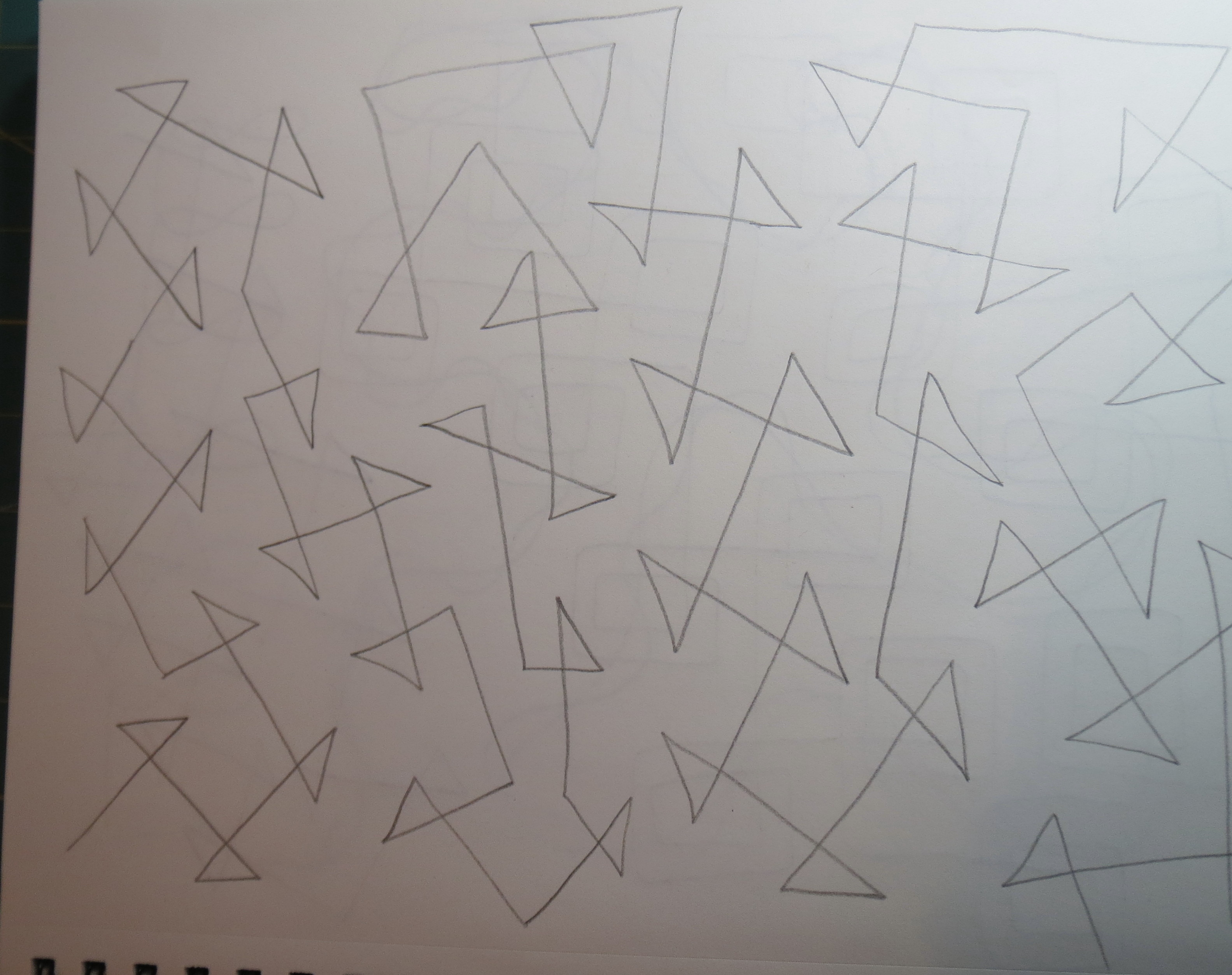 Modern Free Motion Quilting Patterns : Free Motion Quilting Patterns for Modern Quilts Mystery Bay Quilt Design