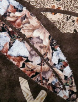 Applique fabric not starched