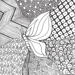 Zentangle Butterfly