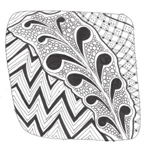 Zentangle Abstract