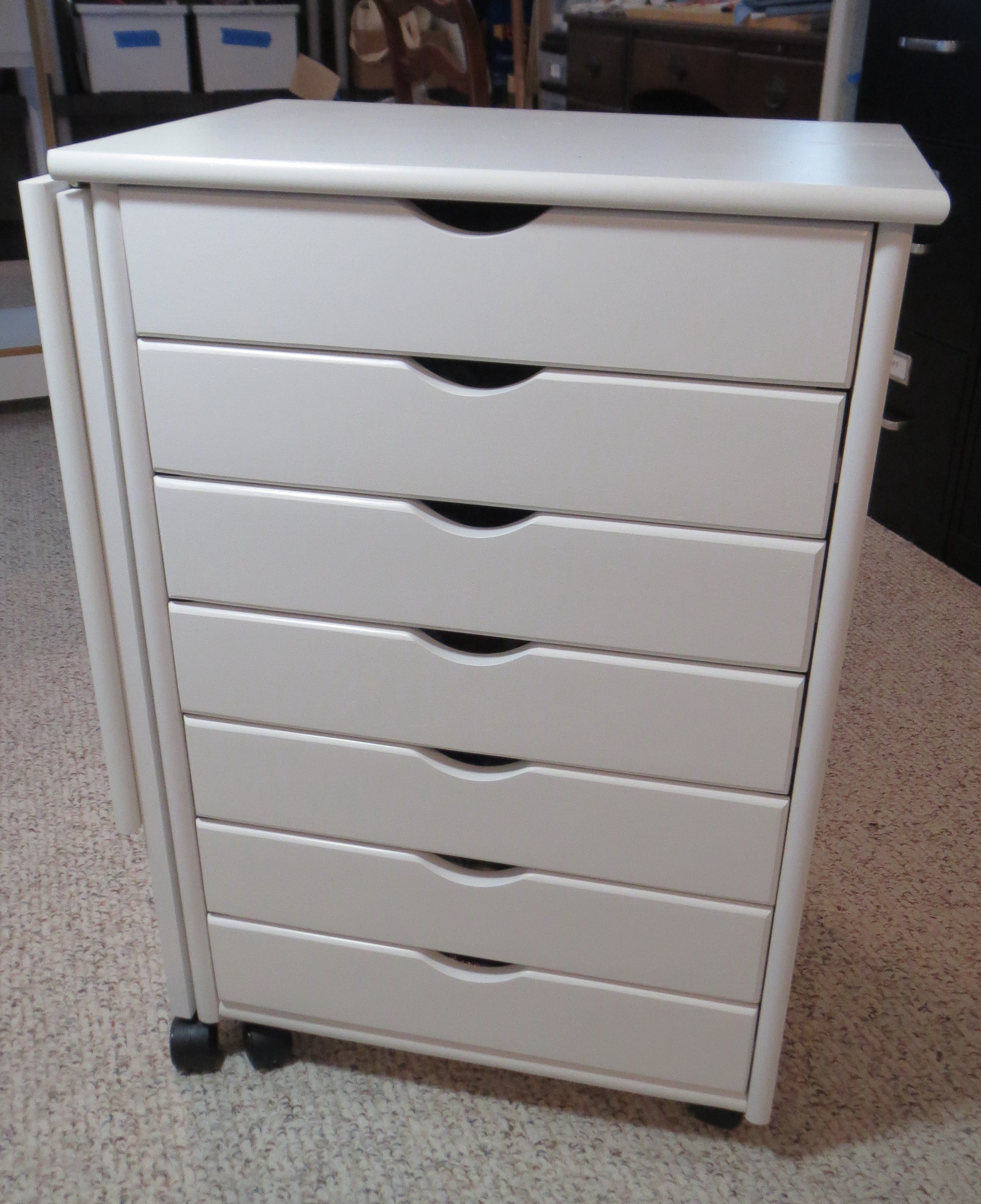 white drawer halifax pin cabinet drawers cart storage winsome in