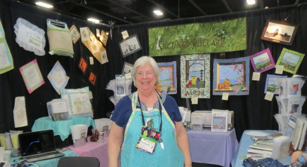 Barb Schultz of Enchanted Valley Arts at Sew Expo