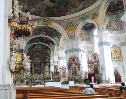 St Gallen Cathedral inside