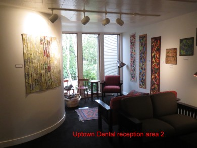 Uptown Dental reception area 2