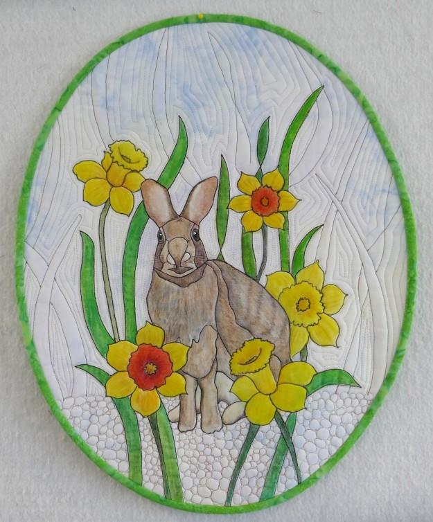 bunny rabbit quilt