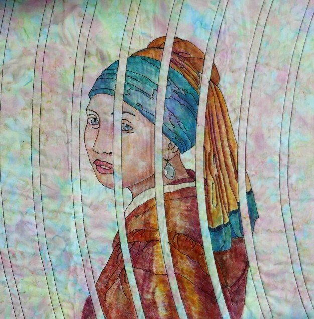 girl with pearl earring quilt